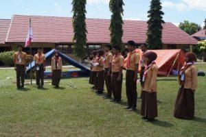 Persami Gerakan Pramuka SMAS PGRI 1 Banjarbaru