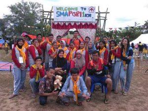 Jumbara Anggota PMR SMA PGRI 1 Banjarbaru