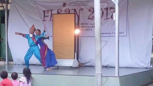 Penari SMA PGRI 1 Banjarbaru, rebut Juara 1 FLS2N Kota Banjarbaru